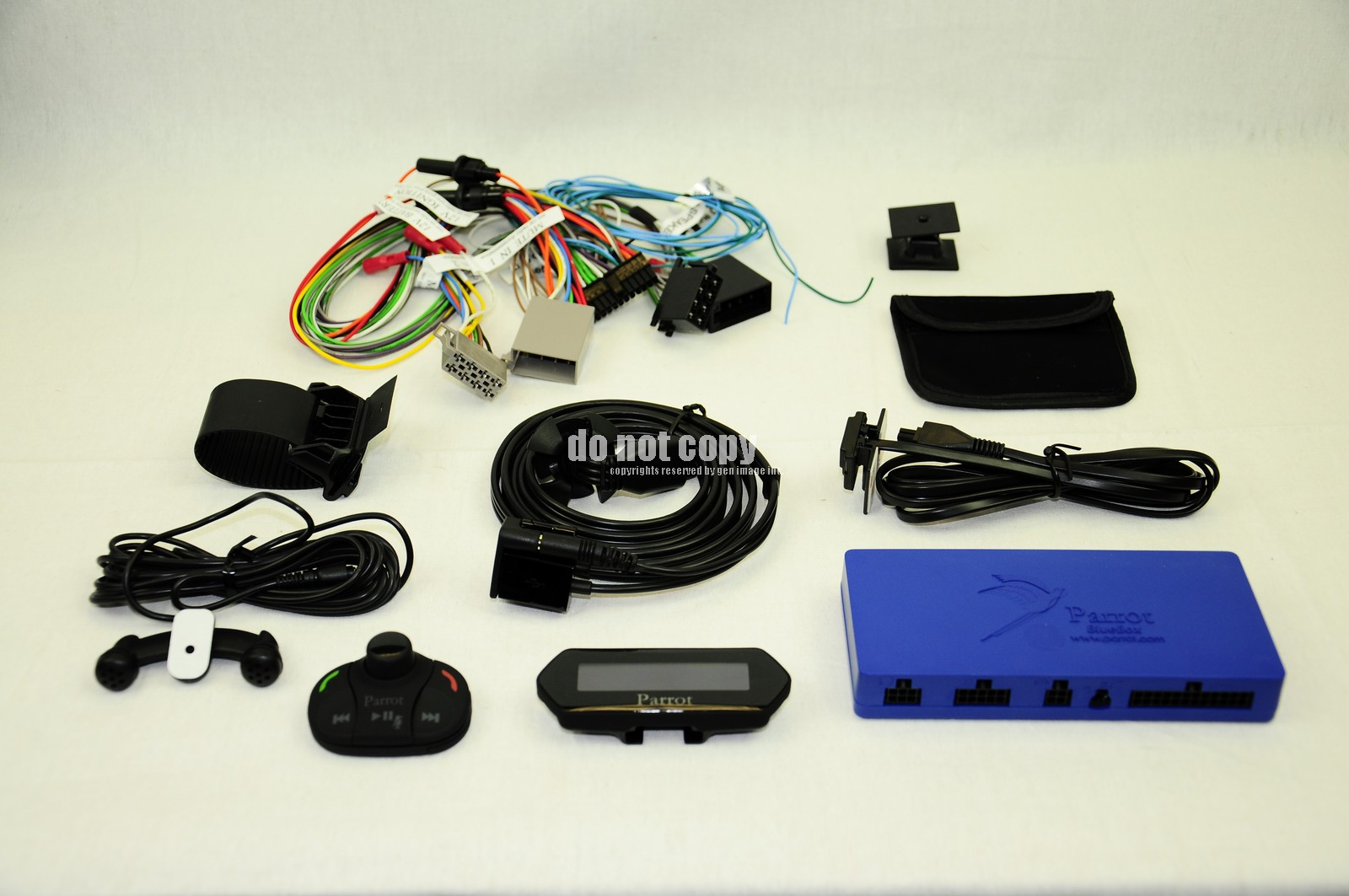 parrot mki9100 cell phone bluetooth car kit with music streaming ebay. Black Bedroom Furniture Sets. Home Design Ideas