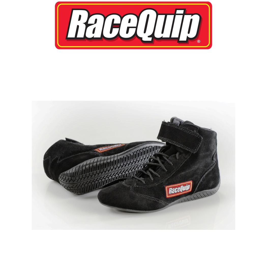 SFI 3.3//5 RACE SHOES MID TOP RACING SHOES SUEDE BLACK SIZE MENS 11