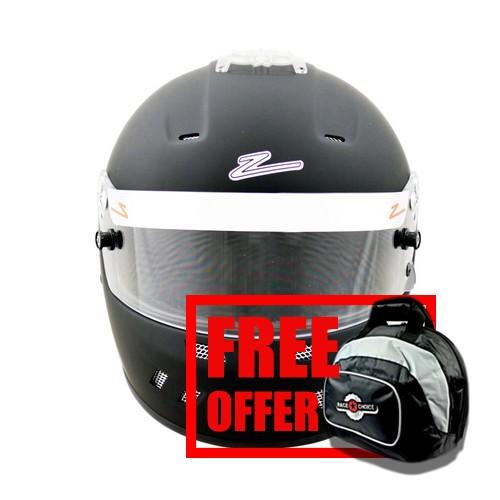 Zamp RZ-58 TOP AIR Snell SA2015 Helmet Matte Black Small