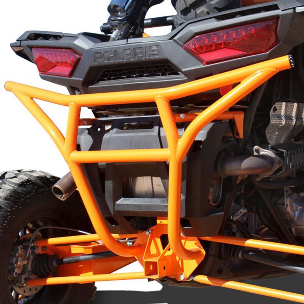 Orange Rear Bumper