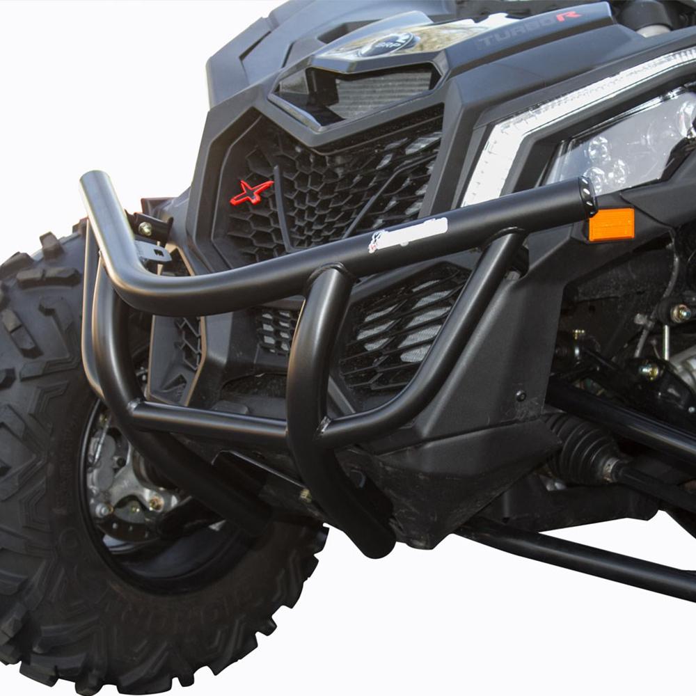 Black Front Bumper