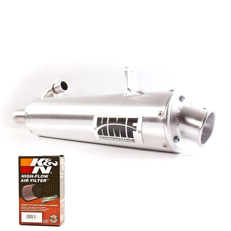 HMF Performance Full Exhaust System /& K/&N Filter Honda Ruckus 2003-2015