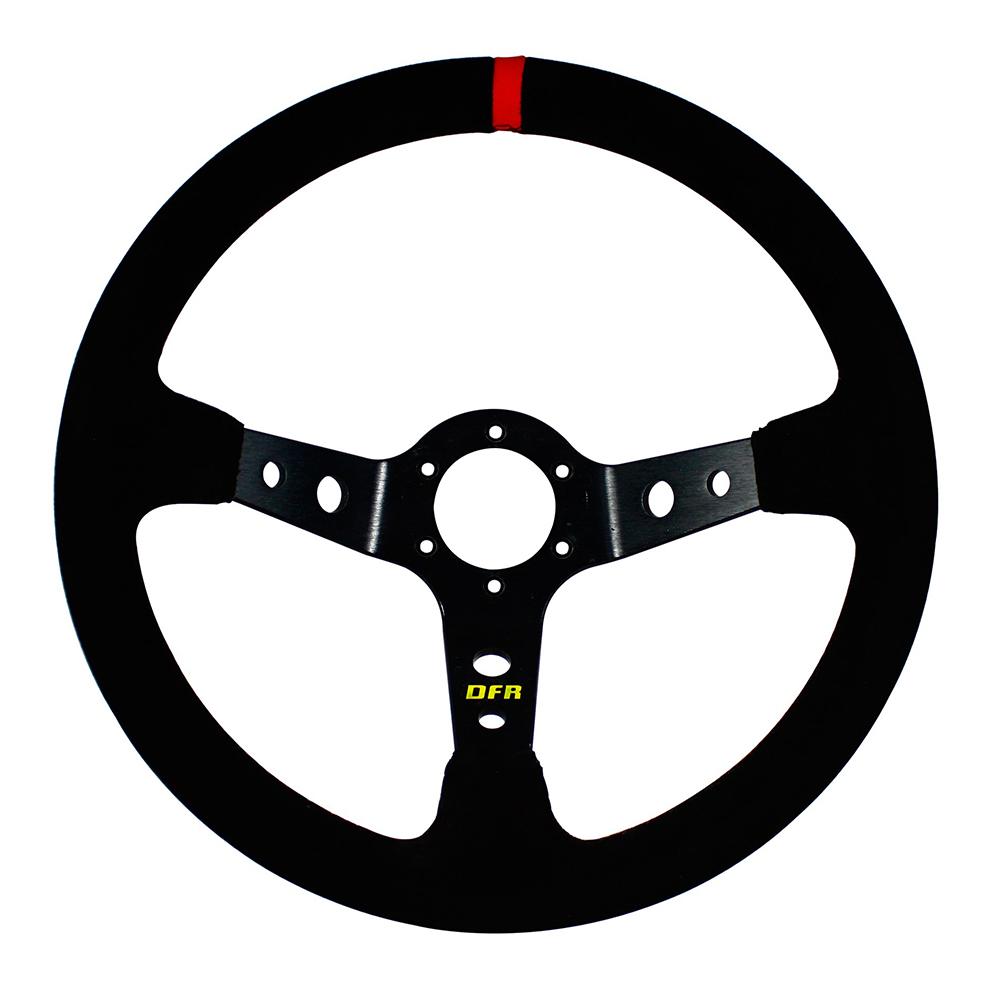 Sport Suede Steering Wheel