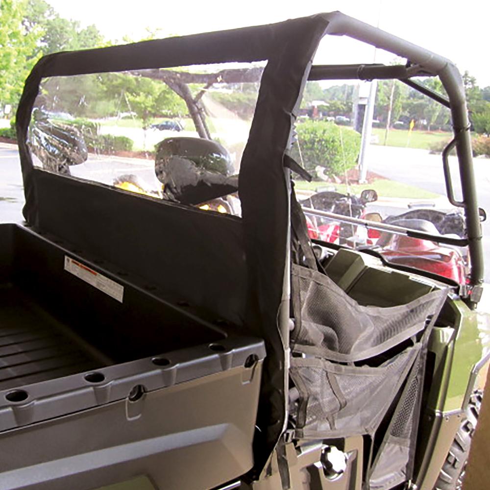 Dust Panel with Rear Window