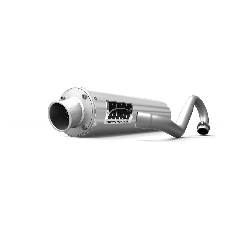 Performance Full Brushed Aluminum Exhaust & Brushed End Cap