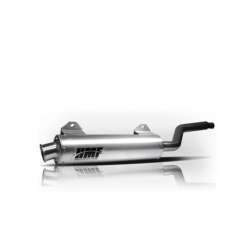 Performance Slip On Brushed Aluminum Exhaust & Brushed End Cap
