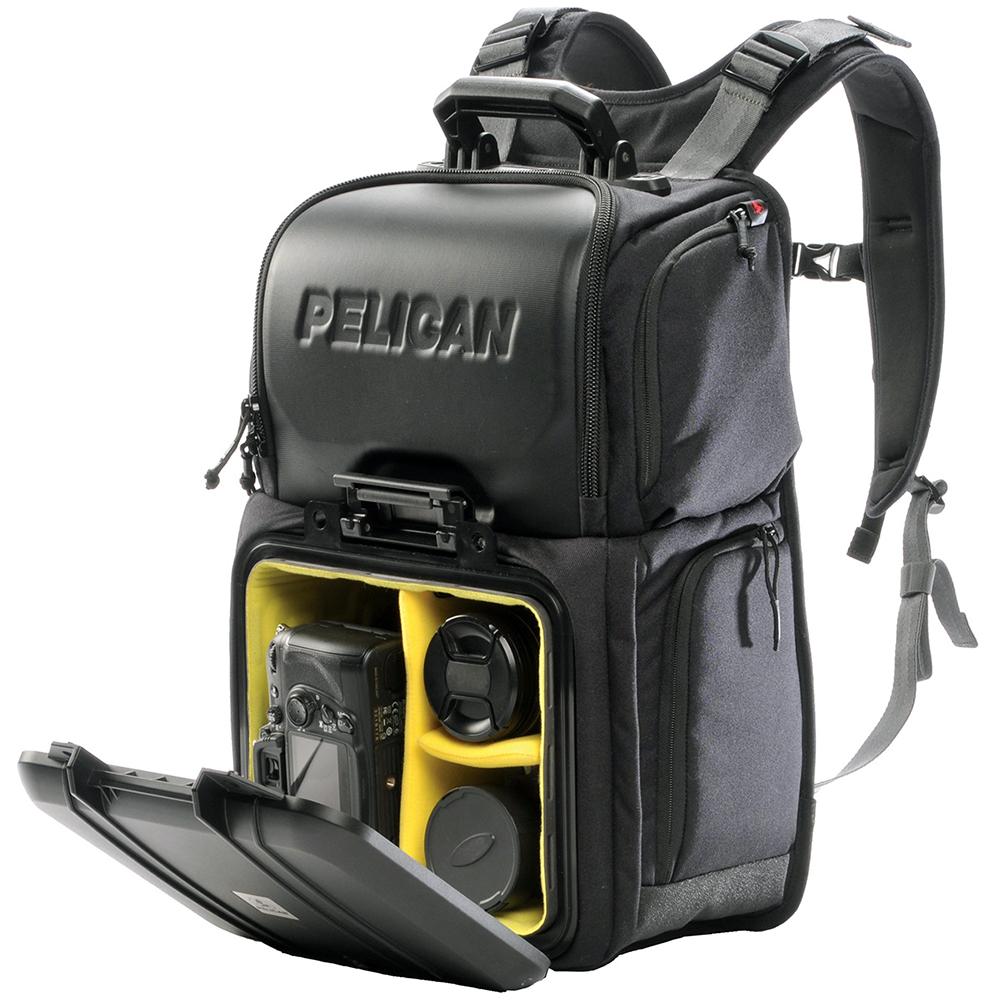 Black Half Case Camera Pack