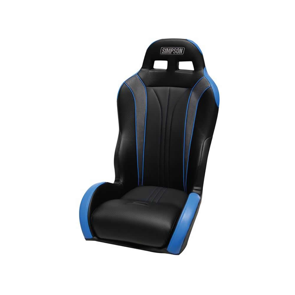 Black & Blue Front Containment Seat