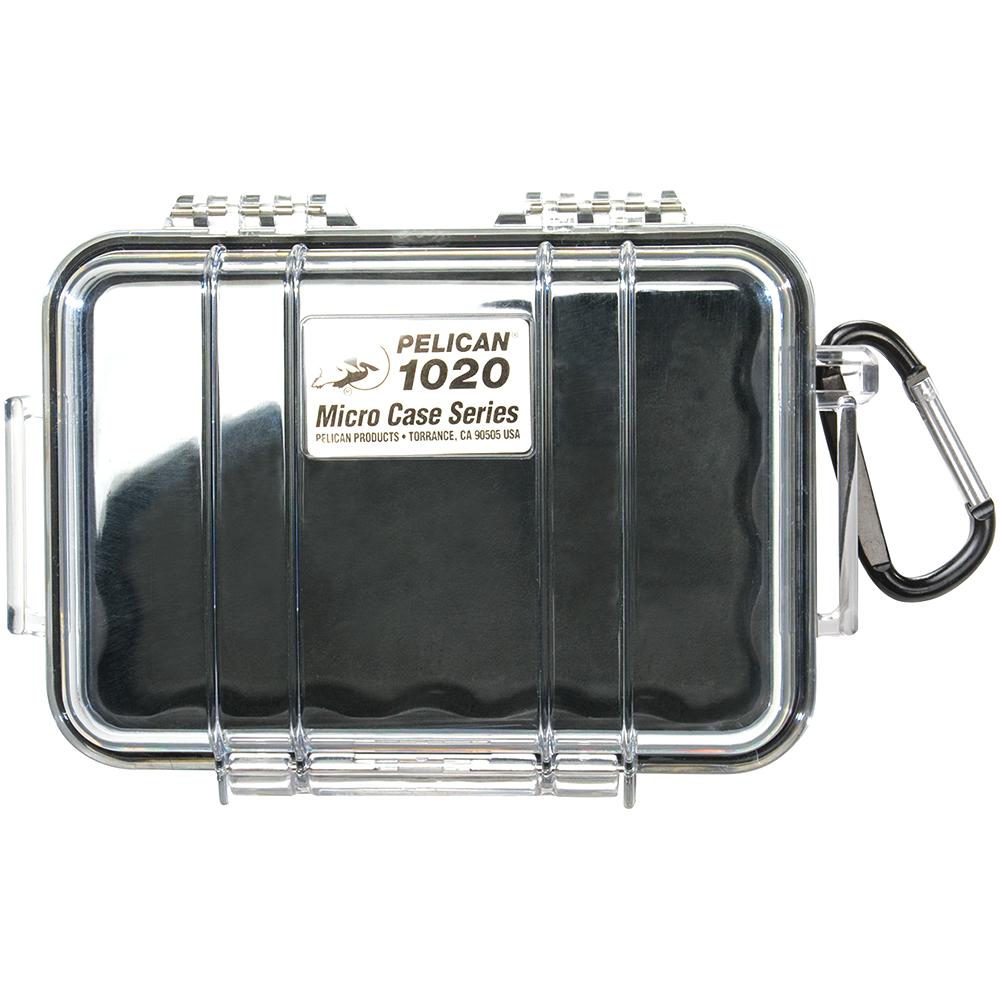 Black & Clear Mini Waterproof Carrying Case