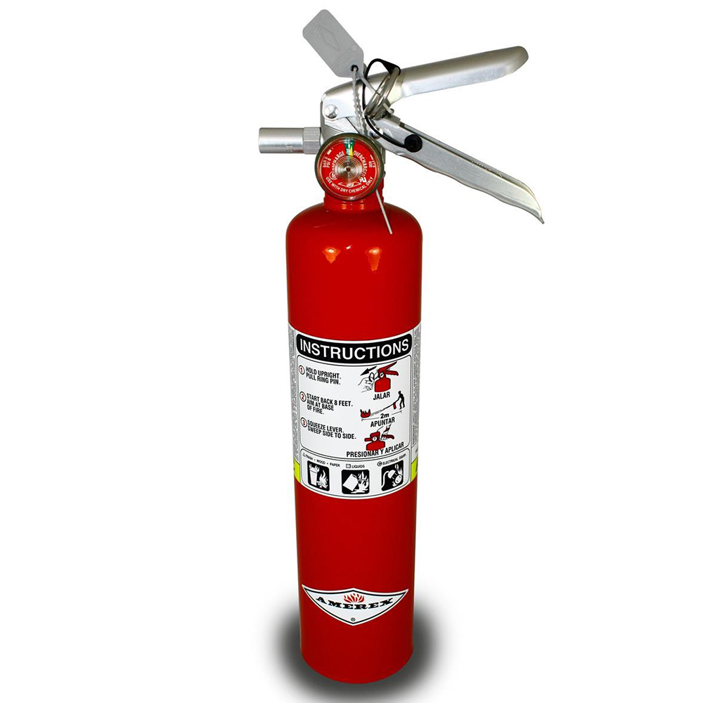 Red 2.5 lbs. ABC Fire Extinguisher
