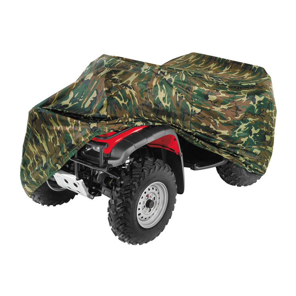 QuadBoss Quad Cover XL Woodlands Camo
