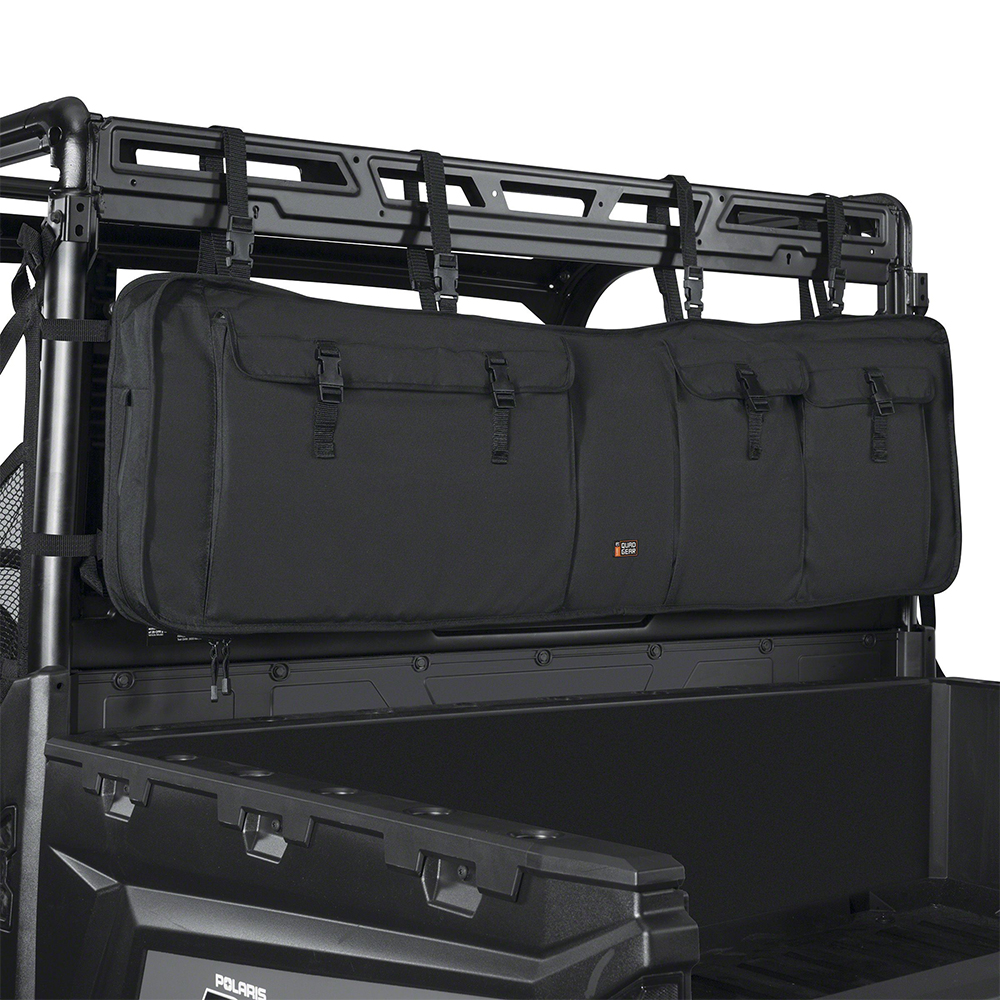 Black UTV Double Gun Carrier