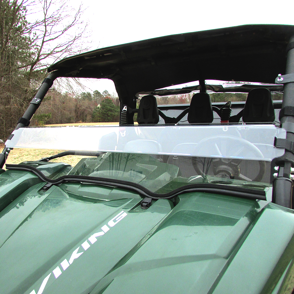 Polycarbonate Half Windshield