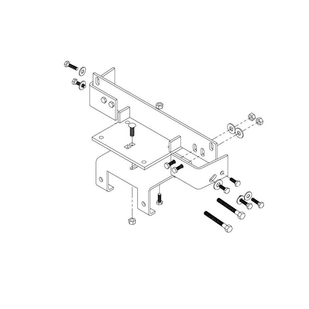 Polaris Magnum 325 Performance Parts Accessories Wiring Schematic 7 Gauge Steel Winch Mounting Kit