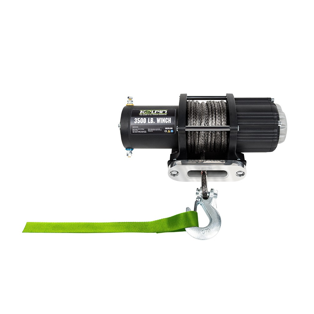 3500 LB Capacity Winch with 50' Synthetic Cable