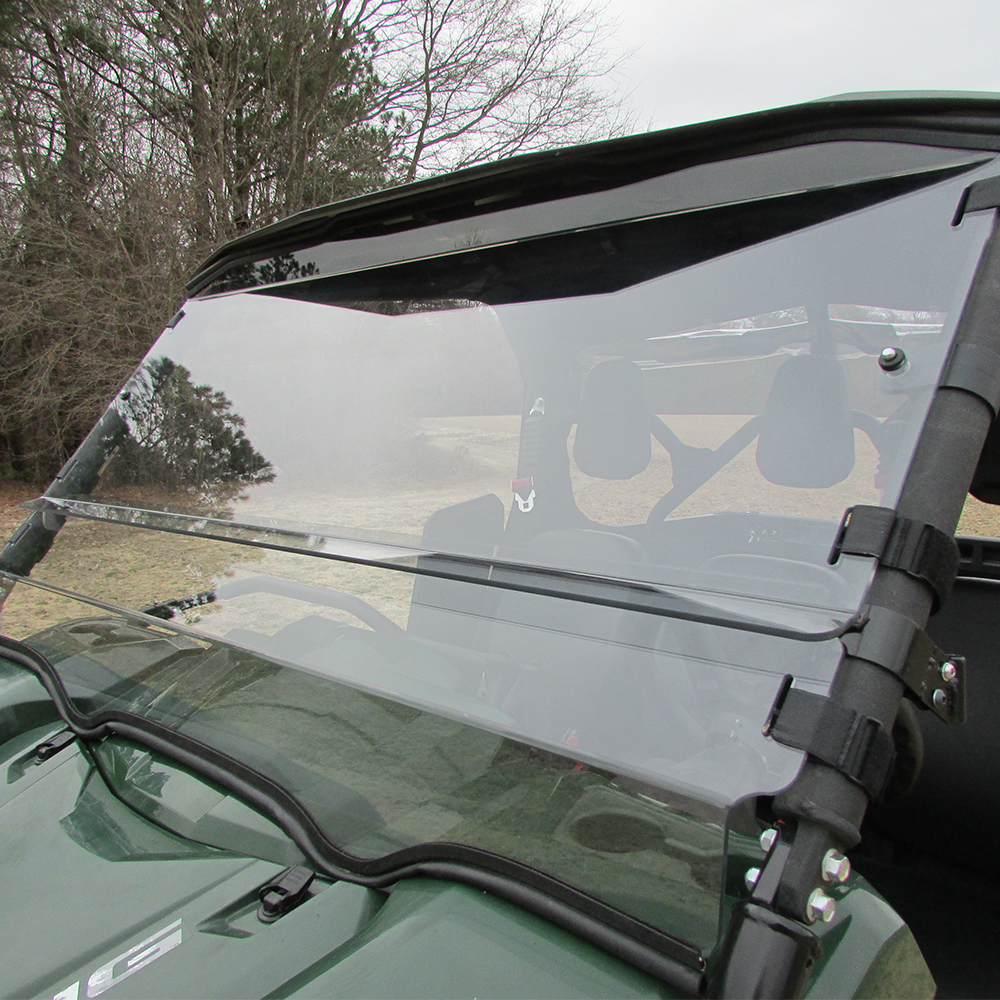 Impact Resistant Acrylic 3-in-1 Windshield - Full, Half & Upper