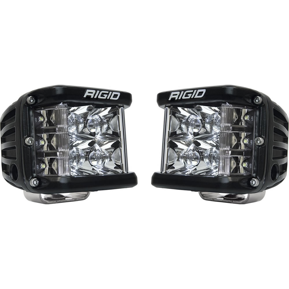 Black Side Shooter Flood Light Pair