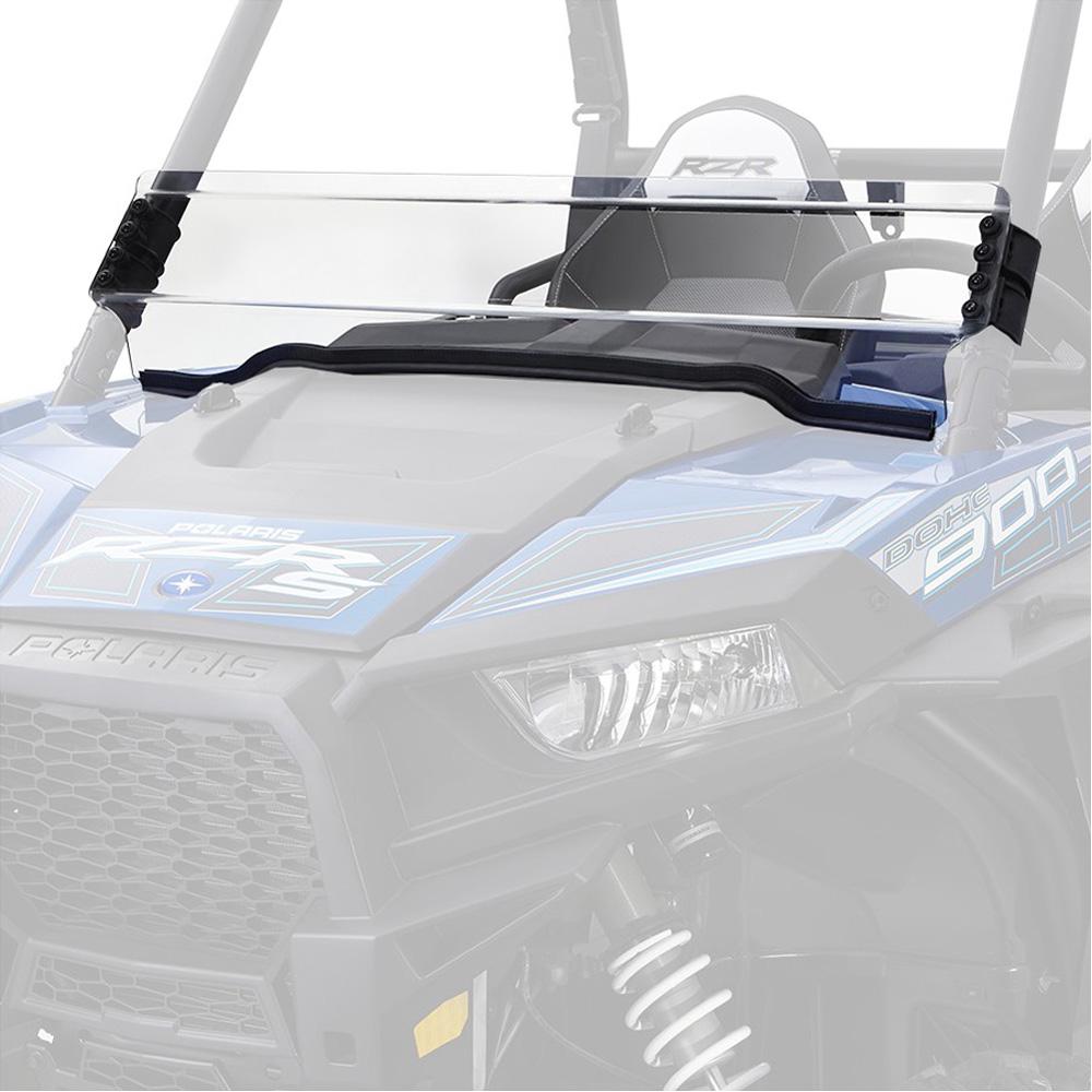 UTV Windshield - Half Fixed Hard Coated - Polaris RZR 900/XP900/1000/XP1000