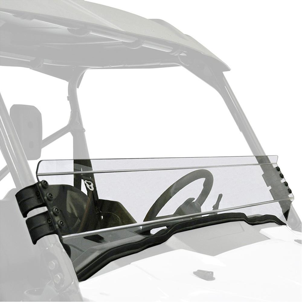 UTV Windshield - Half Fixed Hard Coated - Honda Pioneer 1000 2-Pass/5-Pass