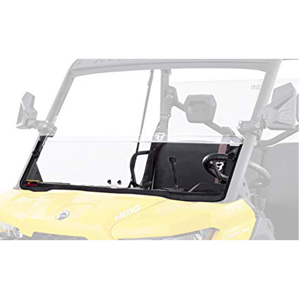 UTV Windshield - Half Fixed Hard Coated - Can-Am Defender