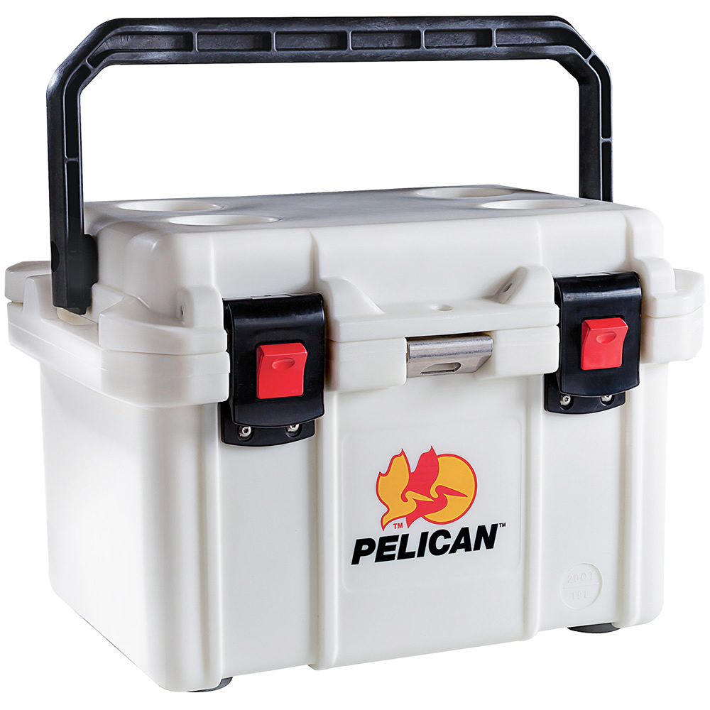 White 20 Gallon Cooler
