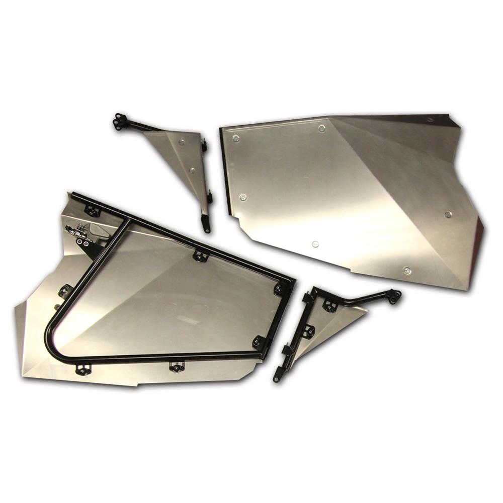 Aluminum Tubular Door Frames with Door Skins