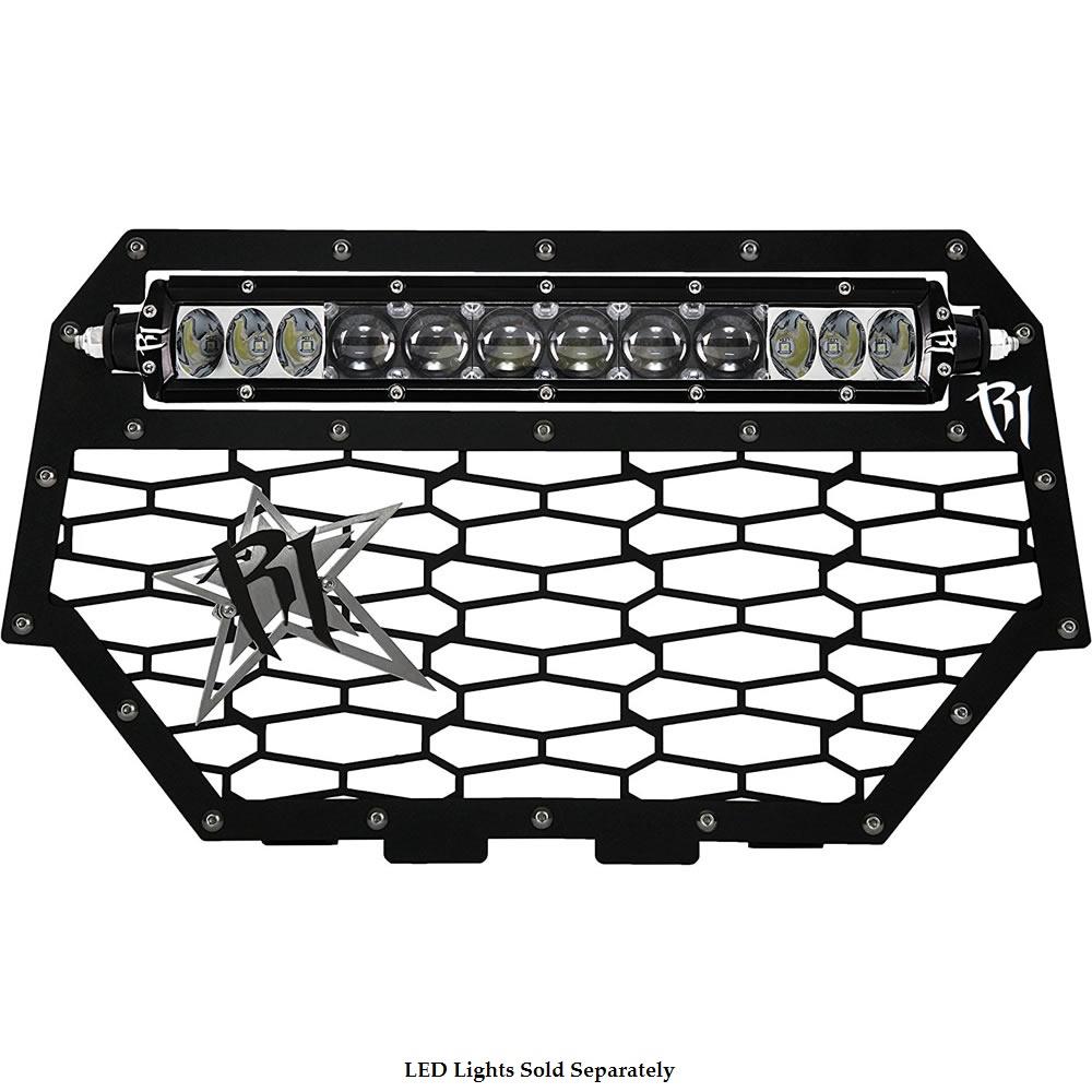 Black LED Grill