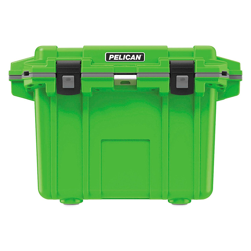 Lime Green & Grey 50 Quart Injection-Molded Cooler