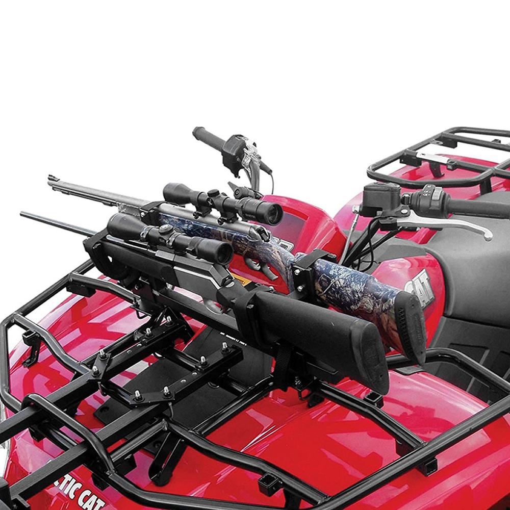 how to make atv gun rack