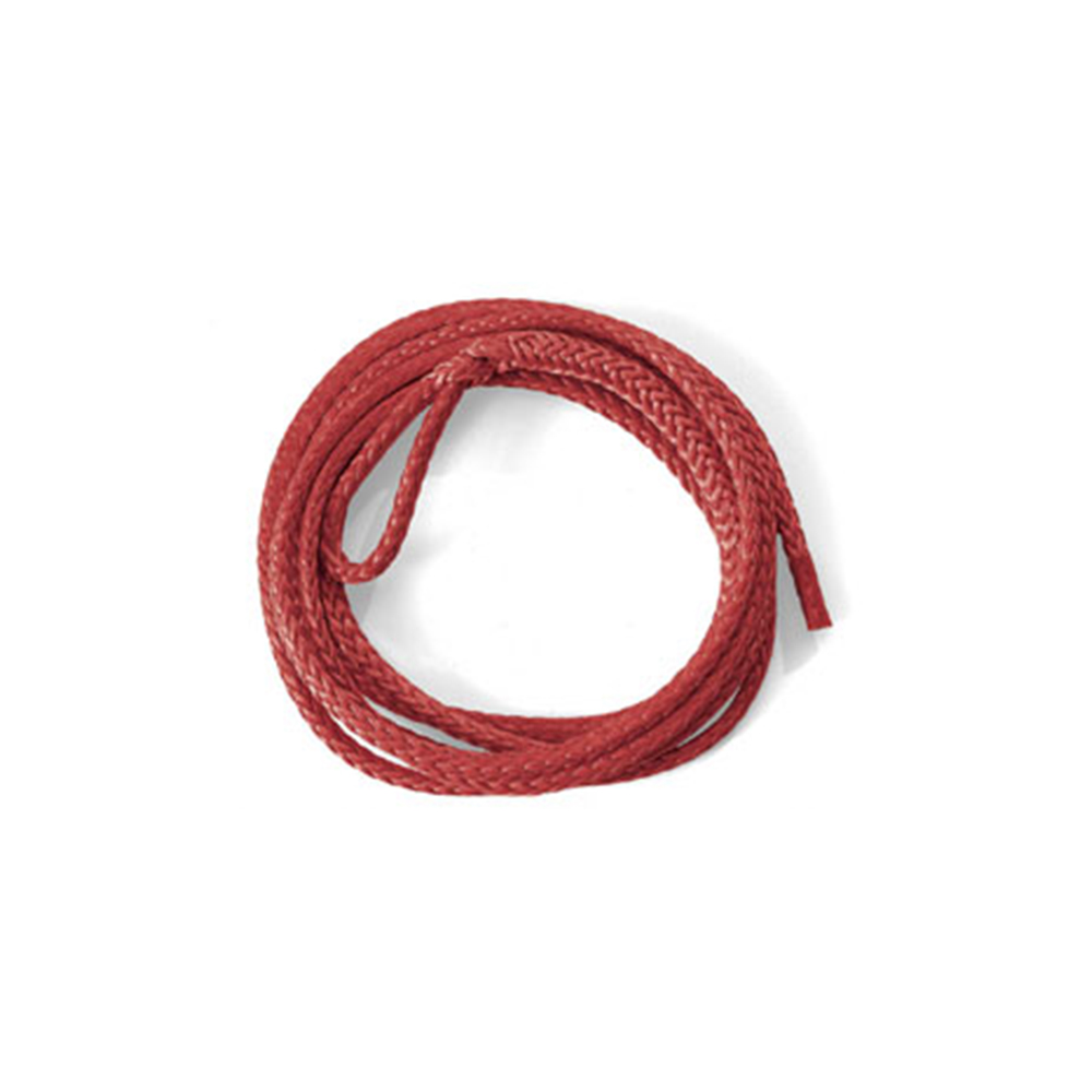Red Synthetic Plow Blade Lift Rope
