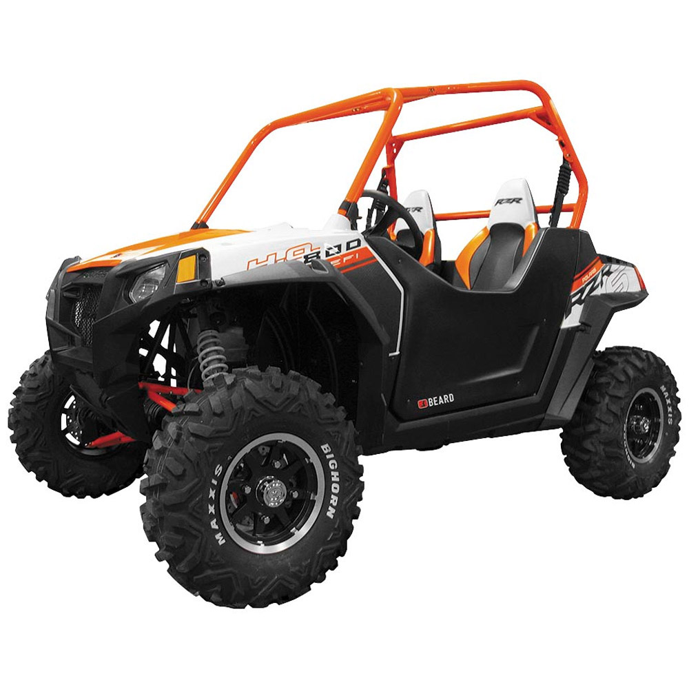 Polaris Rzr 900 Black Automotive Style Bullet Proof Suicide Door Kit