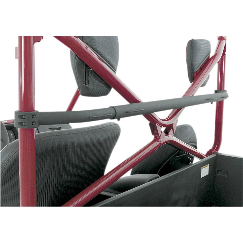 Black Tubular Harness Bar with Fasteners