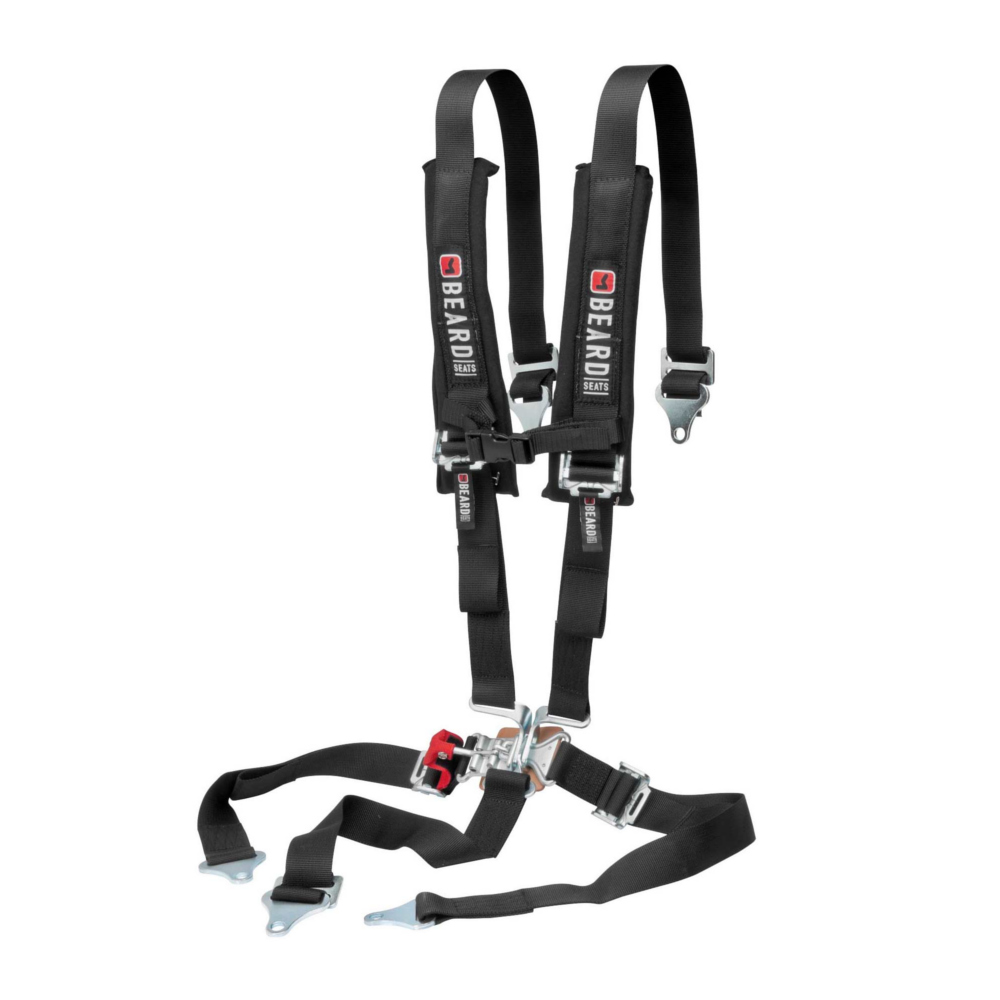 2X2 Latch & Link 5-Point Safety Harness with Pads