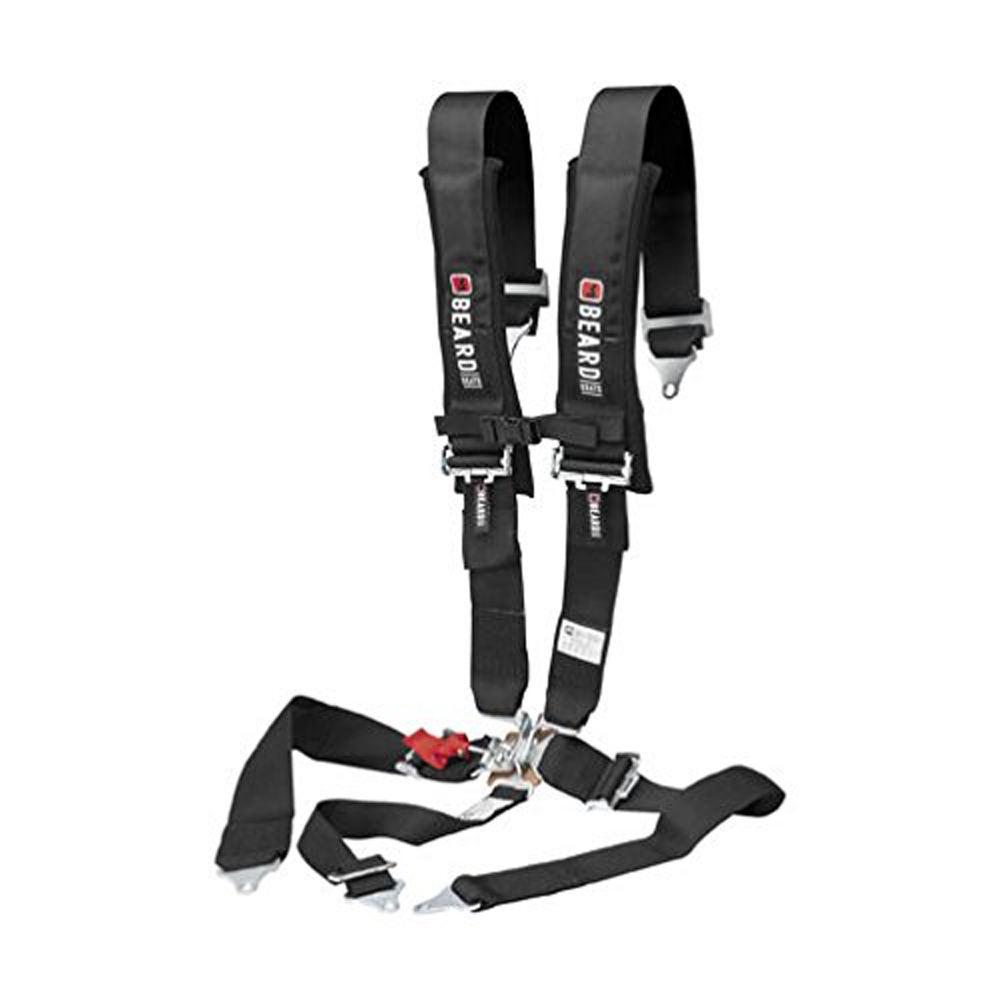 3X3 Latch & Link 5-Point Safety Harness with Pads