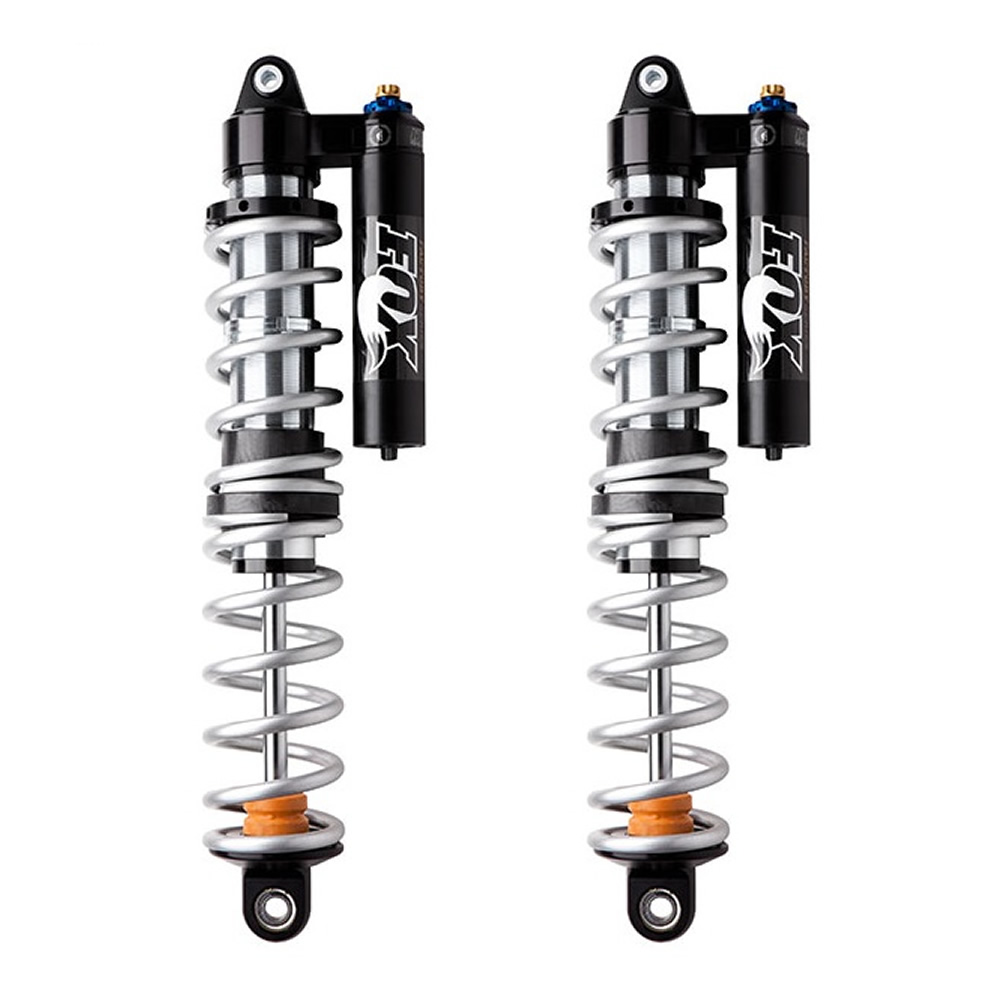 Black & Chrome High Performance Rear Shocks