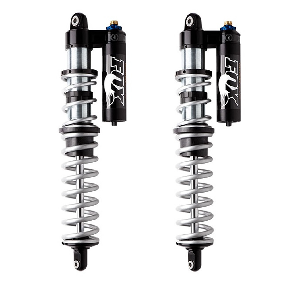 Black & Chrome High Performance Front Shocks