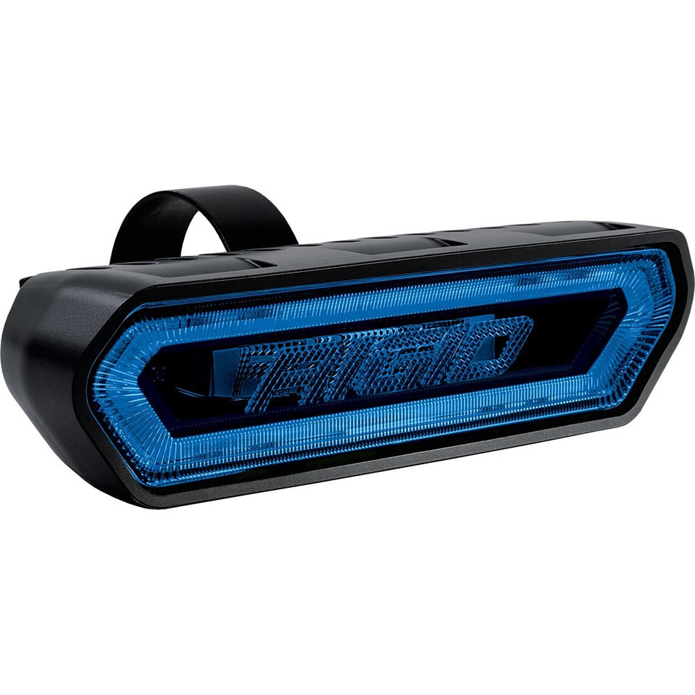 Blue Rear Facing LED Tail Light