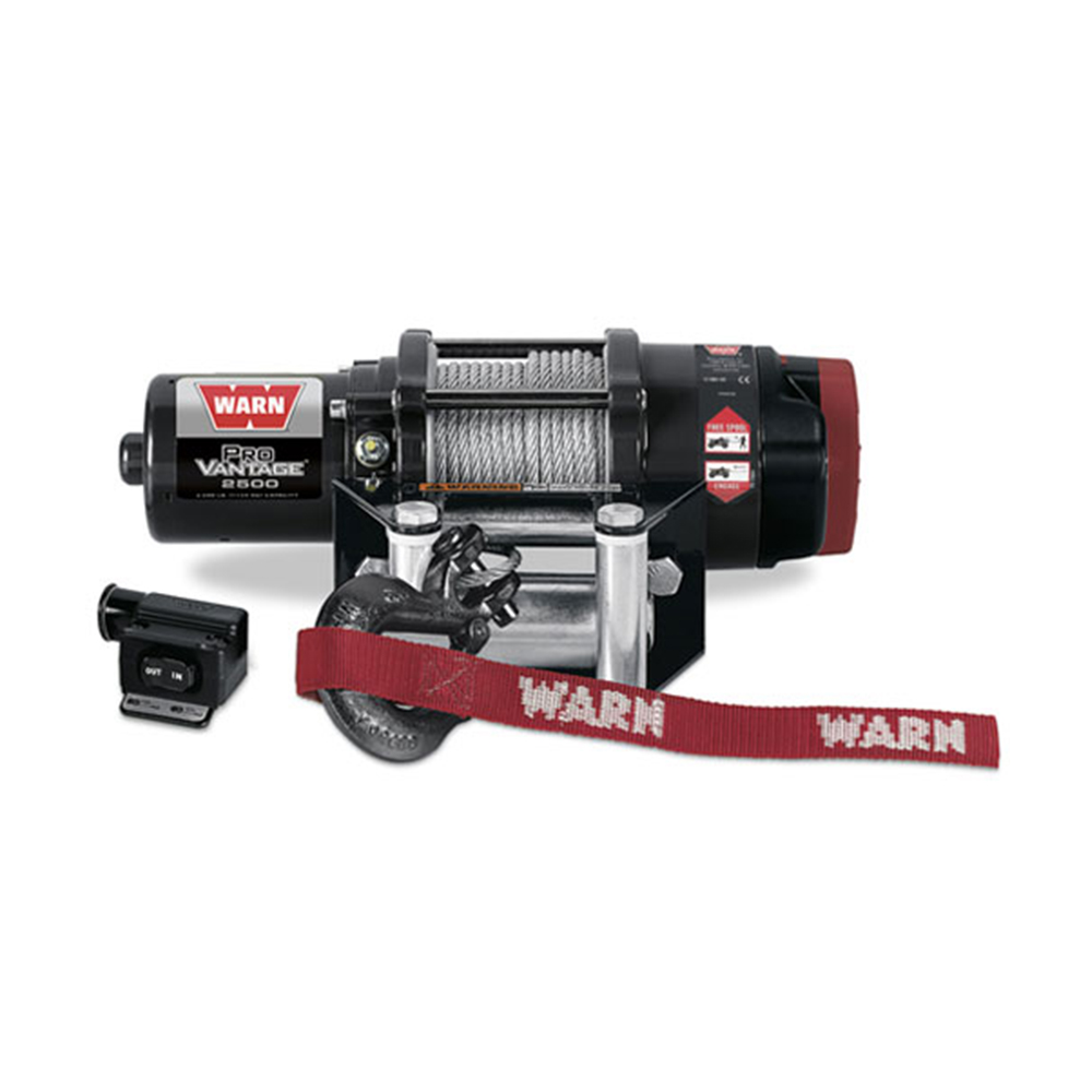 2500 LB Capacity Winch with 50' Wire Rope