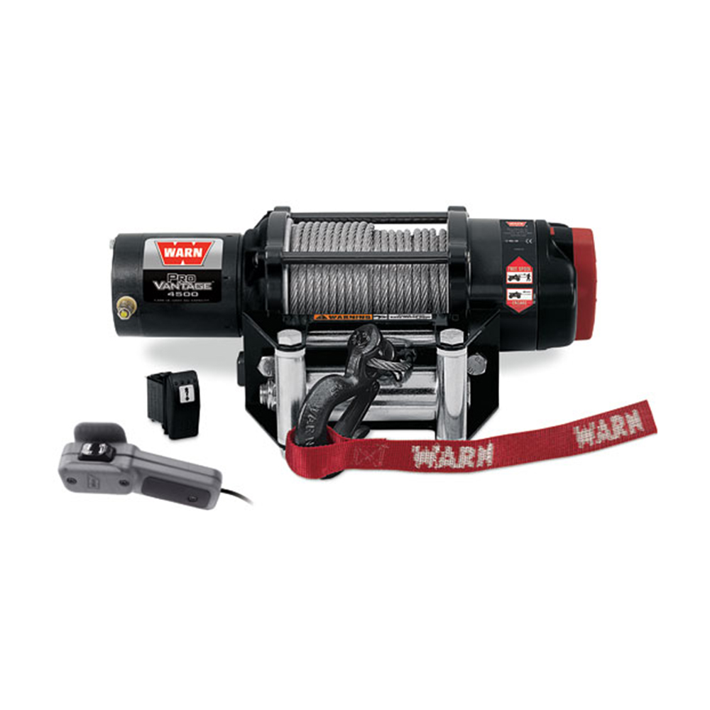 4500 LB Capacity Winch with 55' Wire Rope