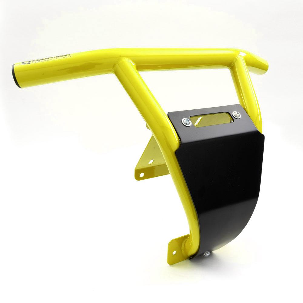 Sunburst Yellow Heavy-Duty Steel Front Bumper