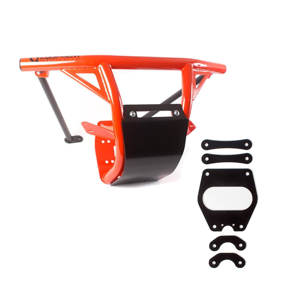 Details about HMF IQ HD Front Bumper & Gusset Kit Can-Am Maverick X3 2017  2018 Can-Am Red