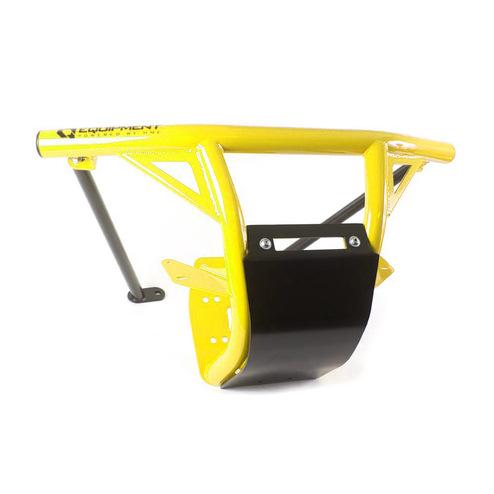 Sunburst Yellow.Steel Front Bumper with Skid Plate & LED Light Bar Mount