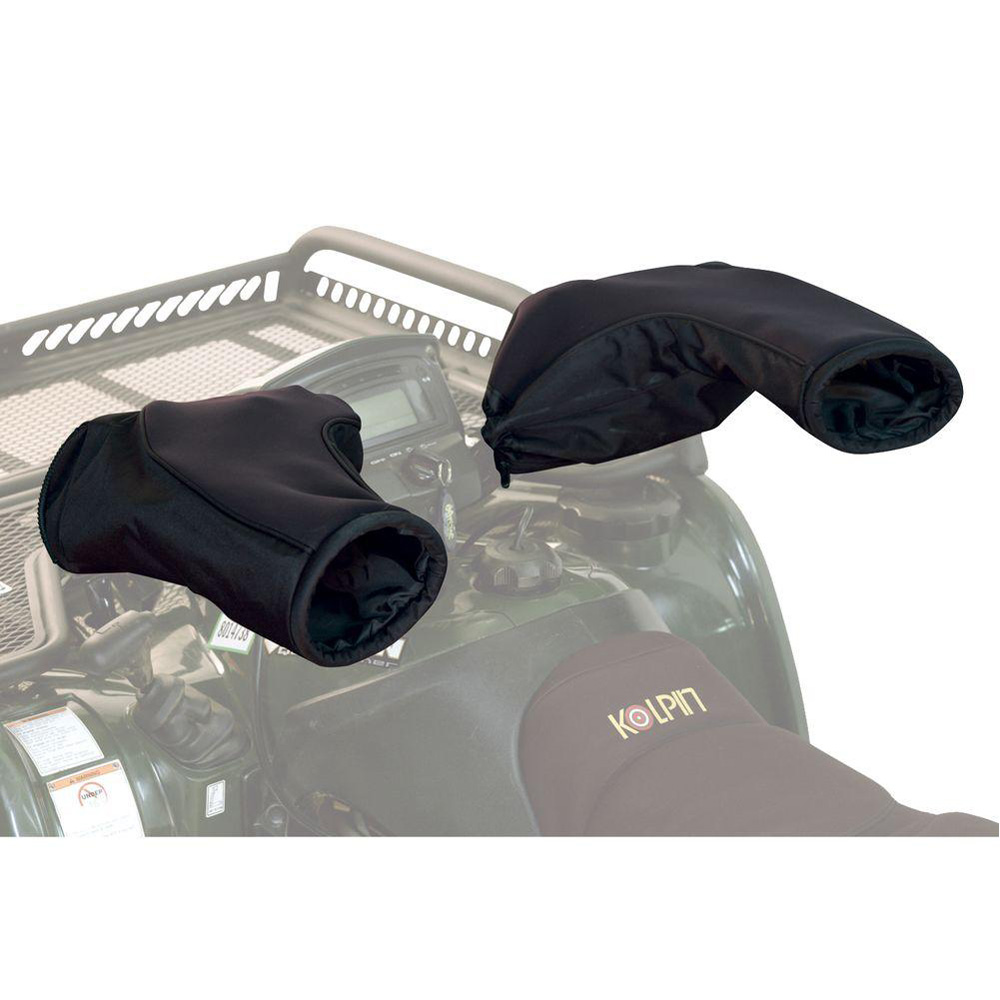 Geartector Cold Weather Handlebar Mitts - Black