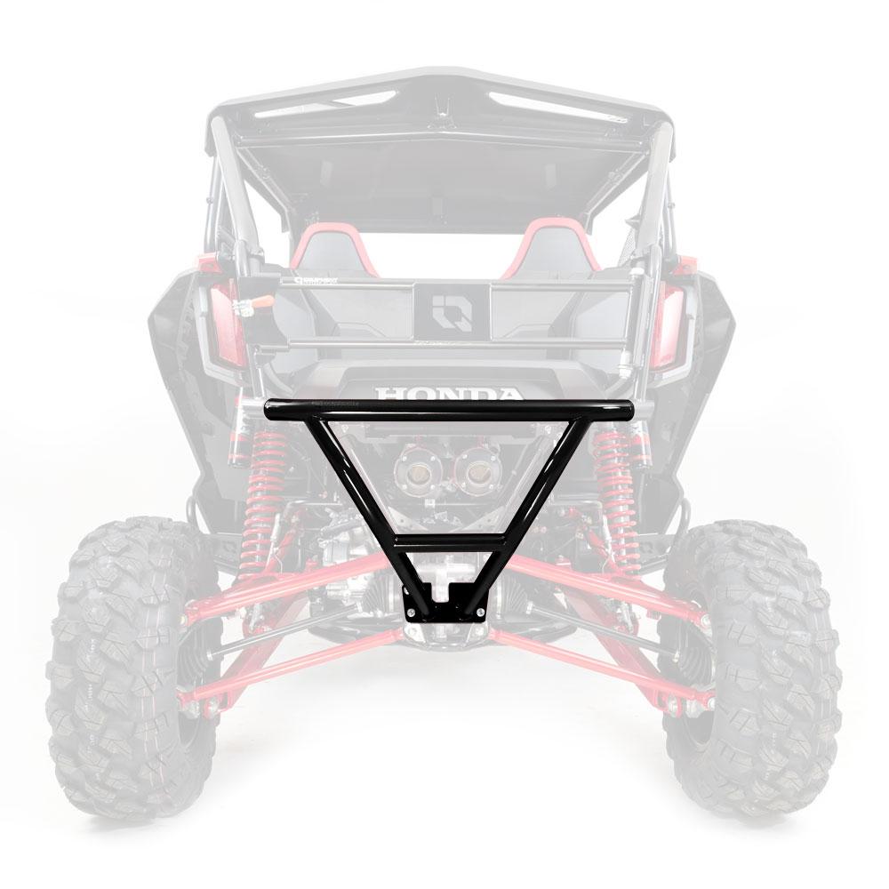 Black Rear Steel Bumper