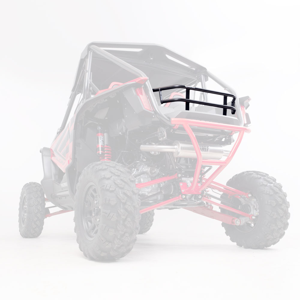 Black Rear Cargo Rack
