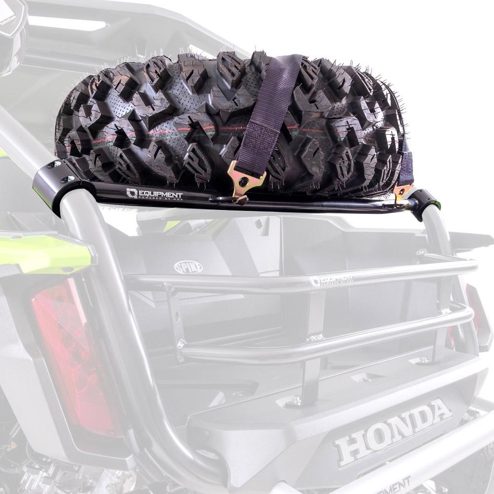 Black Spare Tire Rack