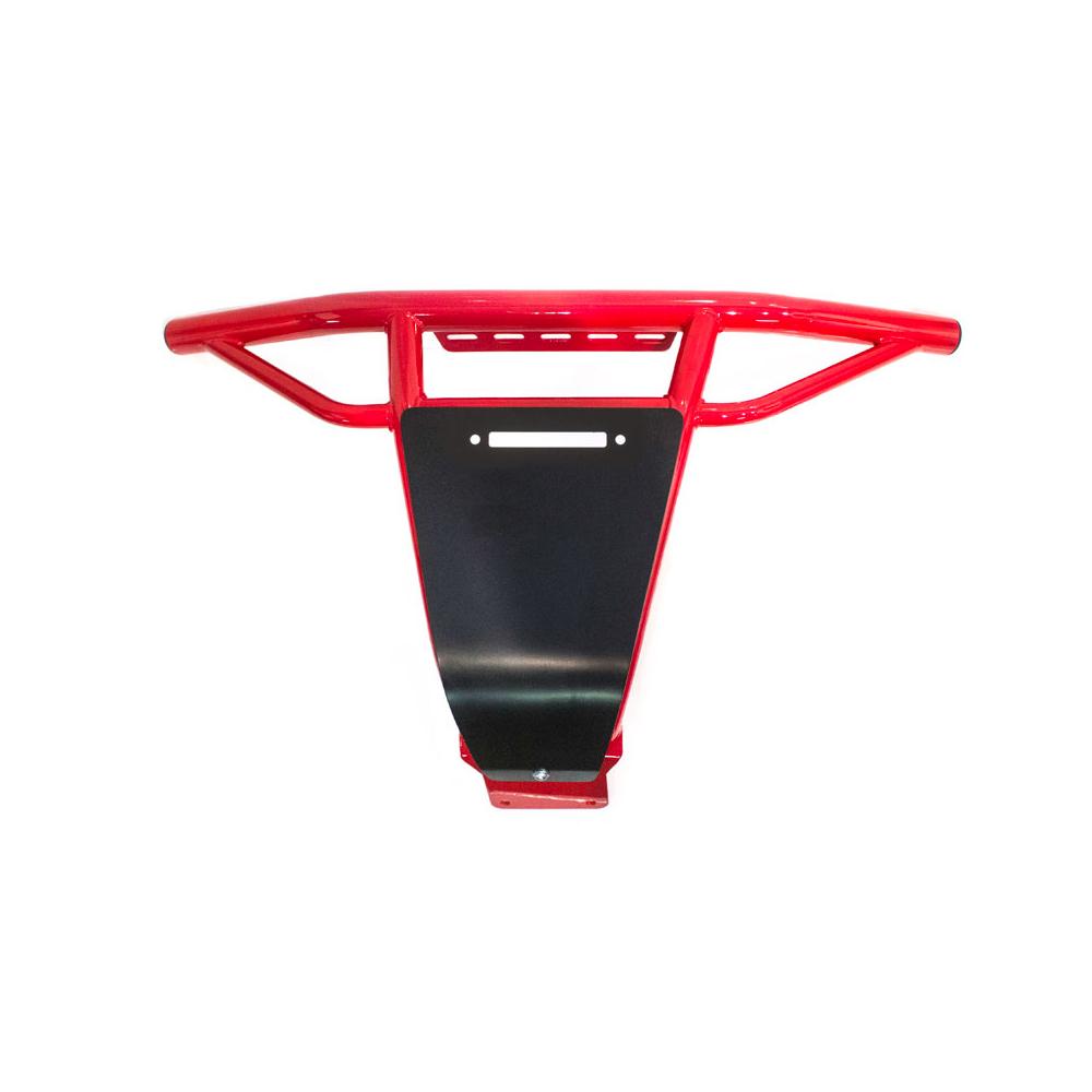 Red UTV Steel Front Bumper