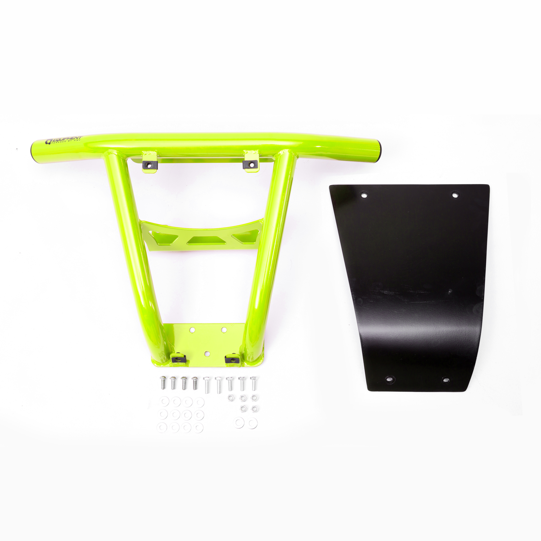 Venom Green UTV Steel Front Bumper without fairlead hole