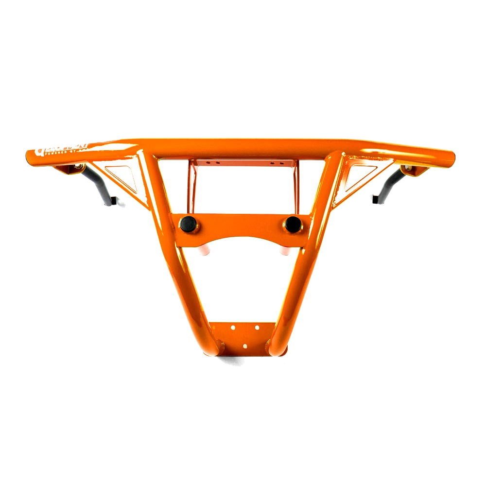 Orange Steel Front Bumper