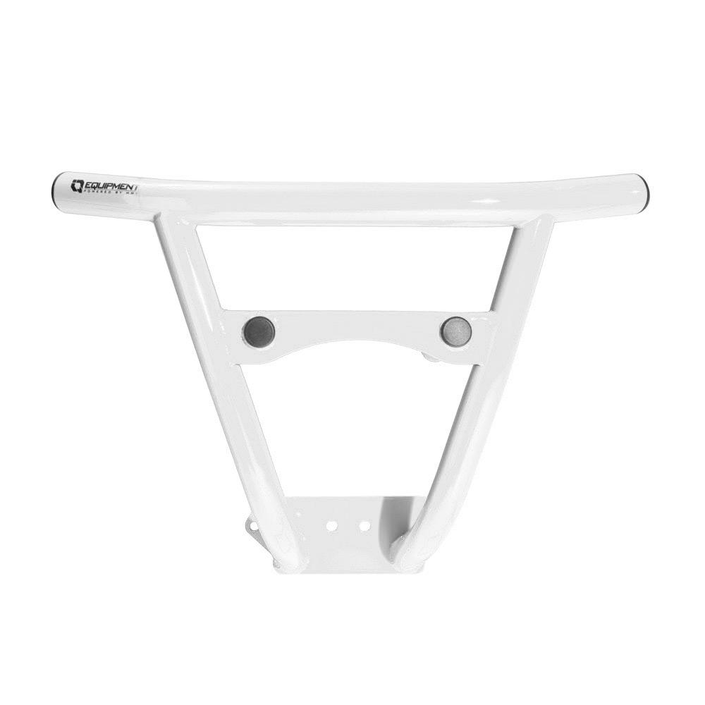 White Steel Front Bumper